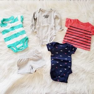 Carter's newborn baby clothes